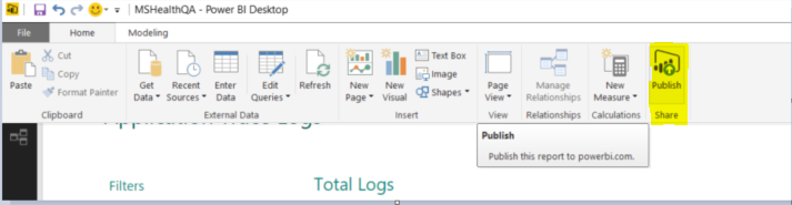 Power BI for Application Tracing and Diagnostics Logs | 10th