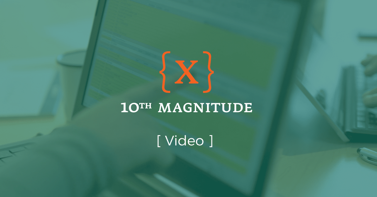 10th Magnitude video