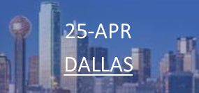 25-APR | DALLAS
