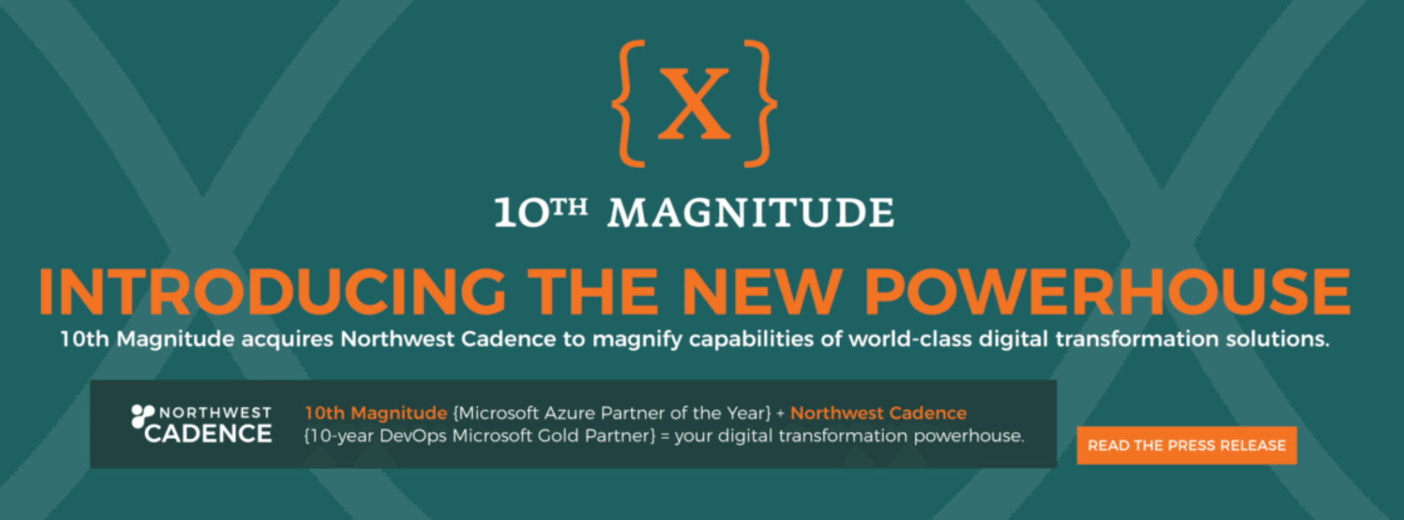 Technical agility 10th Magnitude acquires Northwest Cadence