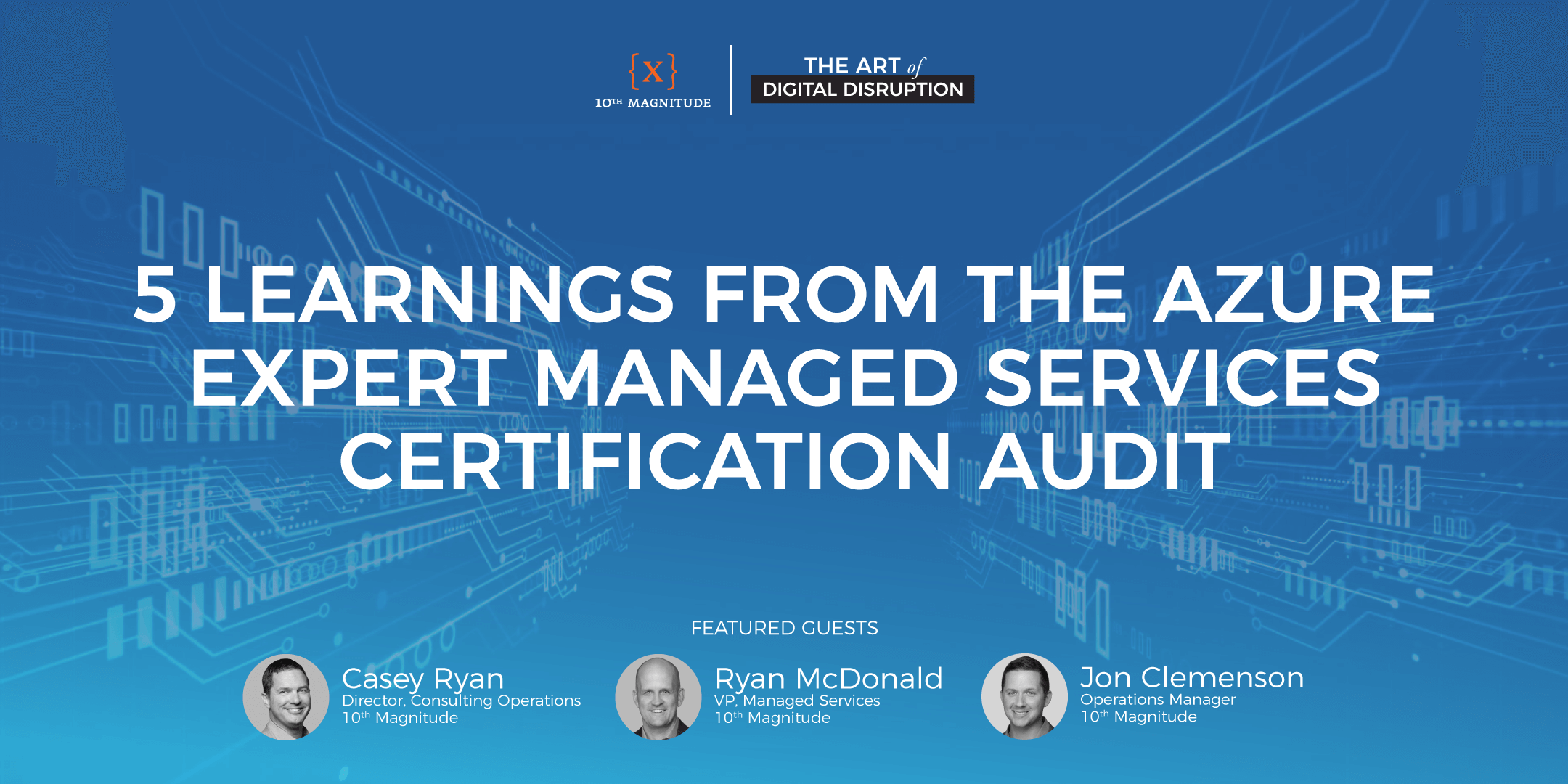 5 Learnings from the Azure Expert Managed Services Certification Audit