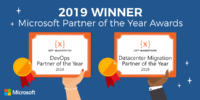 2019 Winner Microsoft Partner of the Year Awards | 10th Magnitude {X}